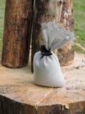 Linen сумка Стоковые Изображения