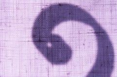 Linen ткань и тень Стоковая Фотография RF