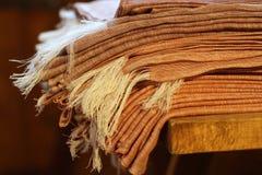 Linen ткани Стоковые Фотографии RF