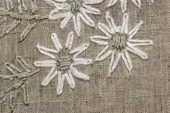 Linen background Stock Image