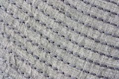 Stitched linen  Royalty Free Stock Photo