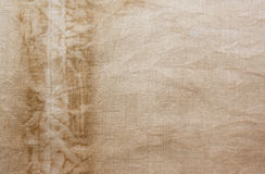 Linen background. Canvas can be used as a background Royalty Free Stock Photos