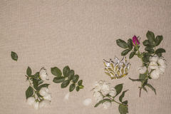 Linen background 10 Royalty Free Stock Photos