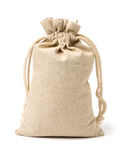 Linen bag Stock Images