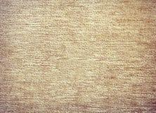 Linen beige background. Beige natural linen textured background Stock Photography