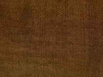 Linen brown bag background Royalty Free Stock Image