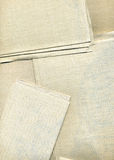 Linen Canvas Background Texture. Perfect for fashion/textiles themed designs Royalty Free Stock Image