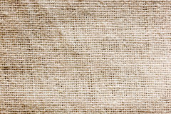 Linen canvas background - texture Stock Images