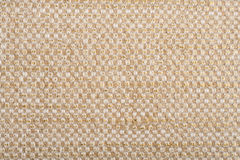 Linen canvas with golden thread. Fexture of linen canvas with golden thread Stock Photos