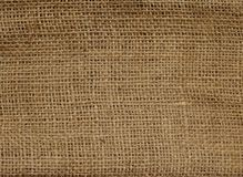Linen Canvas Texture. Brown Linen Canvas Texture. Space for Text Royalty Free Stock Images