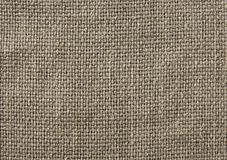 Linen canvas texture Stock Photography