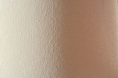 Linen canvas white texture background Stock Photos