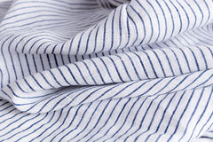 Linen cloth closeup Stock Photo