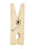 Linen Clothes-peg. Clothes-peg for fastening the Linen on Rope Royalty Free Stock Photography