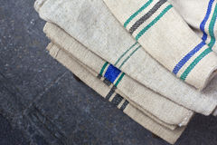 Linen cloths Stock Image