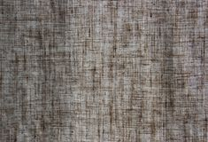 Linen curtain. Texture of grey linen curtain Royalty Free Stock Image