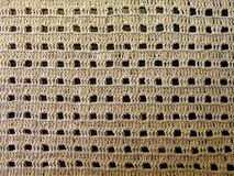 Linen crochet Stock Photo