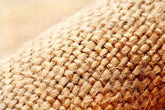 Linen fabric. Macro. Close-up Stock Images