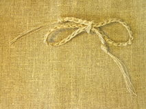Linen fabric abstract. Suitable as background Stock Images