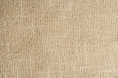 Linen Fabric Background. Textured Natural Tan Linen Fabric Background Stock Image