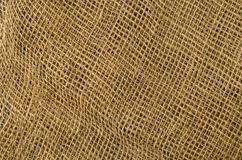 Linen fabric background. Visible texture Stock Photography