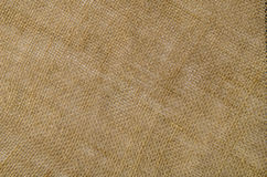 Linen fabric background. Visible texture Royalty Free Stock Photography