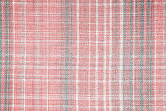 Linen fabric in check pattern texture or background Royalty Free Stock Photography