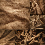 Linen fabric Royalty Free Stock Images