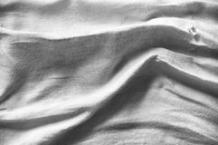 Linen fabric with deep shadows Stock Photography