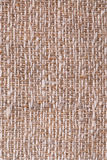 Linen fabric texture. Closeup of a rustic linen fabric texture of natural color Royalty Free Stock Photography