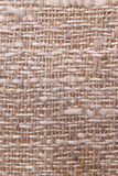 Linen fabric texture. Closeup of a rustic linen fabric texture of natural color Stock Photography