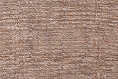 Linen fabric texture. Closeup of a linen fabric texture of natural color Royalty Free Stock Photos