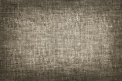 Linen fabric texture in vintage style Stock Image