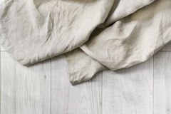 Linen on a floor Stock Image