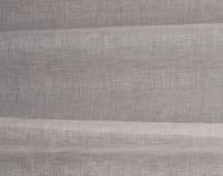 Linen gray fabric Stock Image