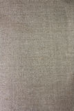 Linen gray fabric closeup Royalty Free Stock Photography