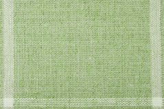 Linen hessian fabric texture Stock Photography