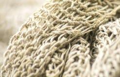 Linen knit Stock Photography