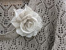 Linen knitted shirt Royalty Free Stock Photo