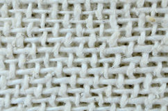 Linen macro background Stock Photo