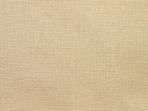 Linen material small scale Royalty Free Stock Photography
