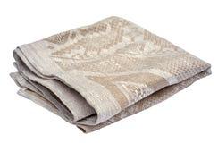 Linen napkin Stock Image