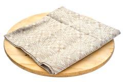 Linen napkin Stock Photos