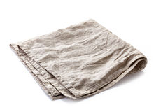 Linen napkin Royalty Free Stock Photography