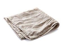 Linen napkin Royalty Free Stock Photography