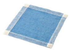 Linen napkin Stock Photo