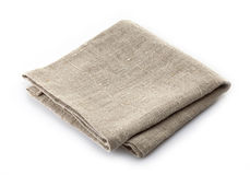 Linen napkin Stock Photography