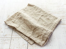 Linen napkin Royalty Free Stock Photo