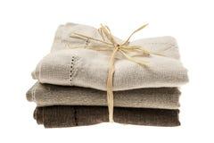Linen napkins Royalty Free Stock Image