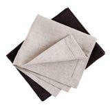 Linen napkins Stock Images